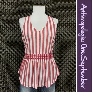 Anthro Circus Stripe Tank by One.September